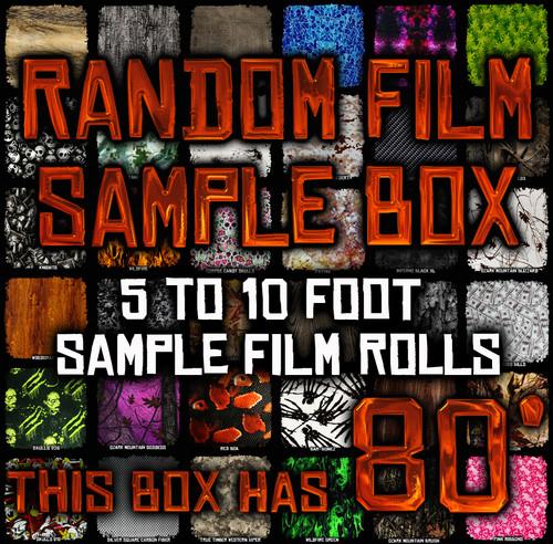 Random Film Sample Box - 80' of Film