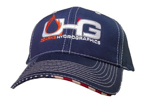 MyOHG Hat Design - America Flag Bill