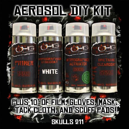 Aerosol DIY Dip Kit -  Skulls 211