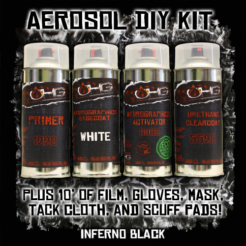 Aerosol DIY Dip Kit -  Inferno Black