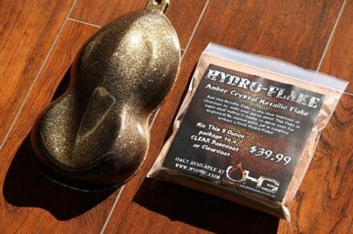 Hydro-Flake Amber Crystal 8oz