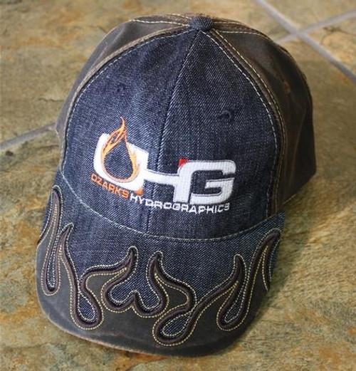 MyOHG Hat Design - Denim Flame