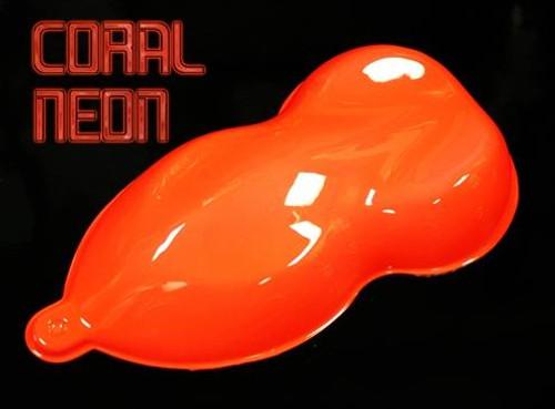 HYDRO-NEON Basecoat - Coral Neon - Quart