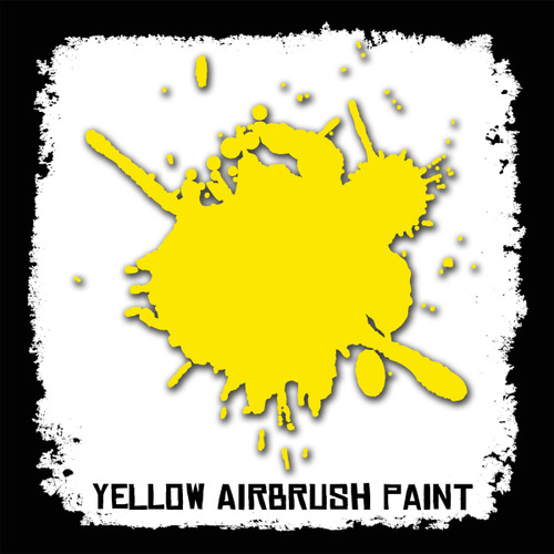 Air Brush Paint - 2oz - Yellow