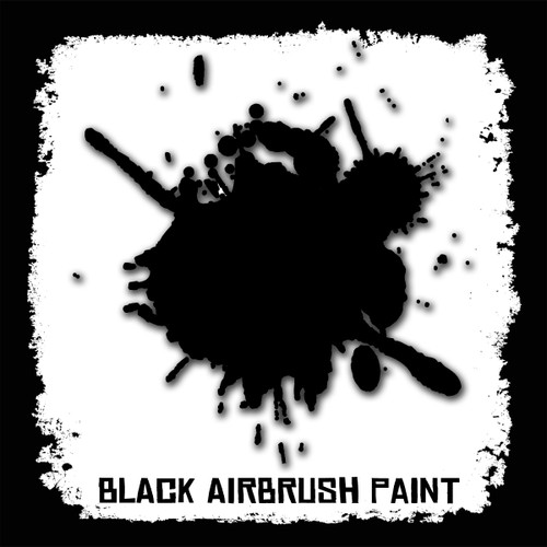 Air Brush Paint - 2oz - Black