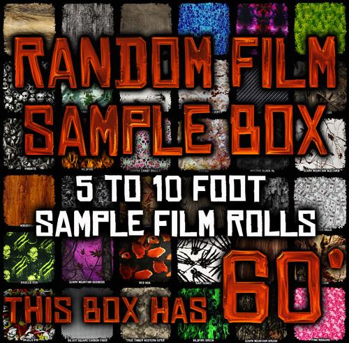 Random Film Sample Box - 60' of Film
