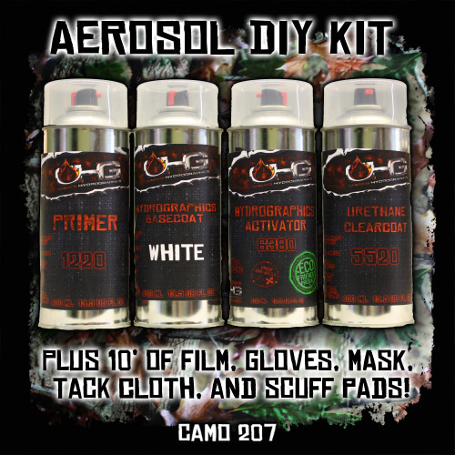 Aerosol DIY Dip Kit - Camo 207
