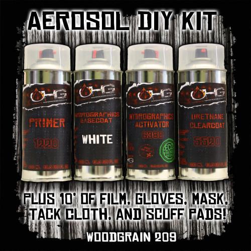 Aerosol DIY Dip Kit - Woodgrain 209