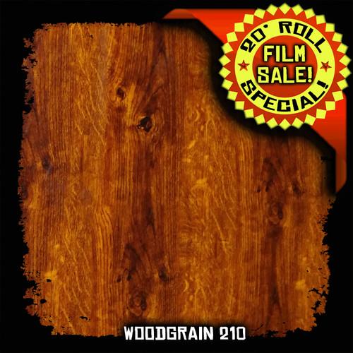 Woodgrain 210 - 20 Foot Roll Special!