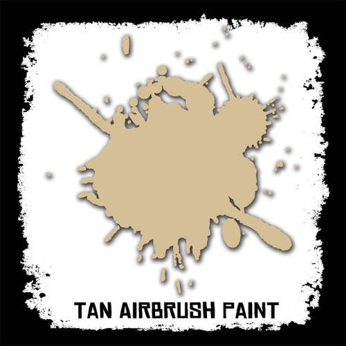 Air Brush Paint - 2oz - Tan