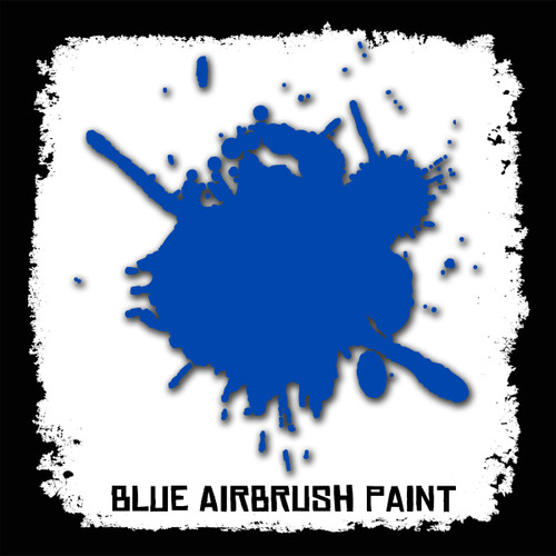 Air Brush Paint - 2oz - Blue