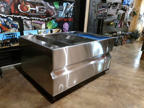 6' Custom Water Transfer Printing Stainless Tank