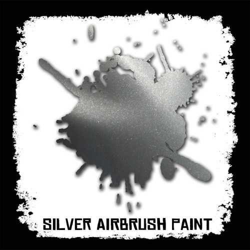 Air Brush Paint - 2oz - Silver