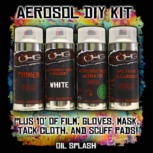 Aerosol DIY Dip Kit -  Oil Splash
