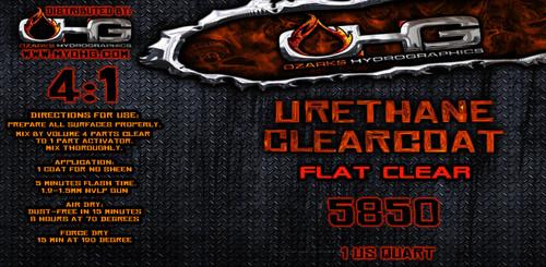 FLAT Clearcoat - Urethane