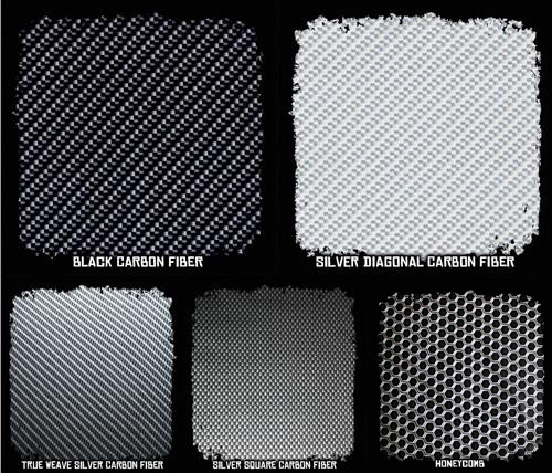 Film SAMPLE Pack w/ Activator - Carbon Fiber Patterns