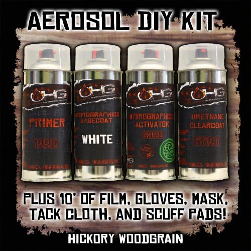 Aerosol DIY Dip Kit - Hickory Woodgrain