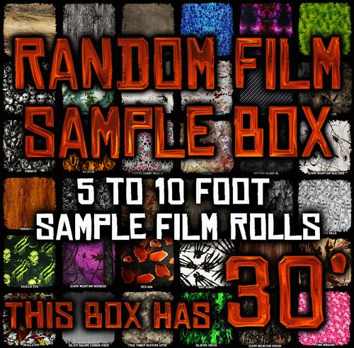 Random Film Sample Box - 30' of Film