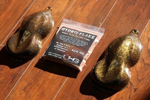 Hydro-Flake Amber Prism 8oz