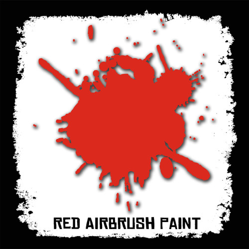 Air Brush Paint - 2oz - Red