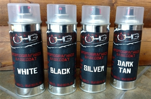 Aerosol Hydrographics Basecoat Kit - 4 Colors!