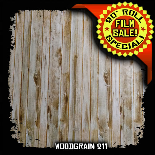 Woodgrain 211 - 20 Foot Roll Special!
