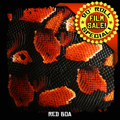 Red Boa - 20 Foot Roll Special!