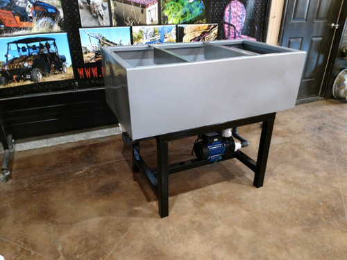 "40"" DIY Advanced Water Transfer Printing Galvanized Tank w/ STAND"