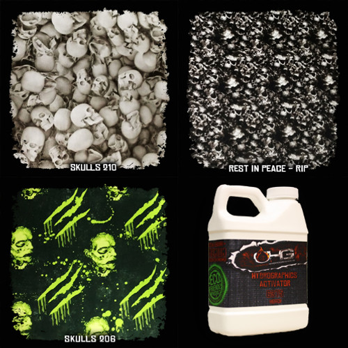 NEW! Film SAMPLE Pack w/ Activator - New Skulls
