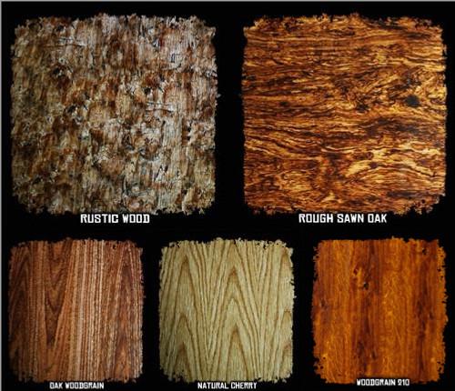 Film SAMPLE Pack w/ Activator - Wood Grain Patterns