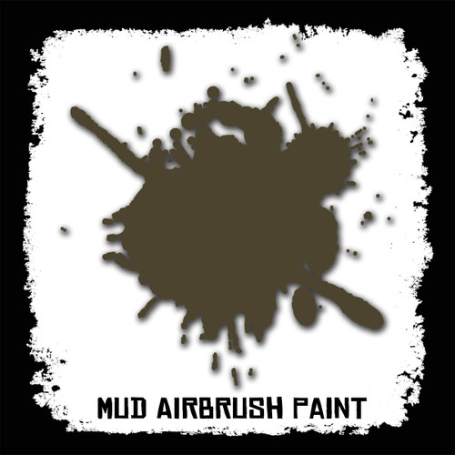 Air Brush Paint - 2oz - Mud