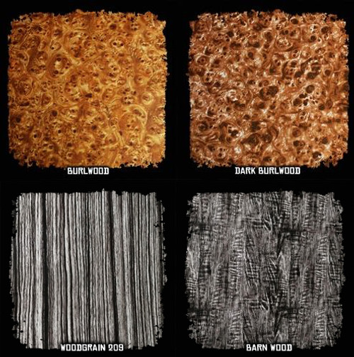 Film SAMPLE Pack w/ Activator - Woodgrain #2 Patterns