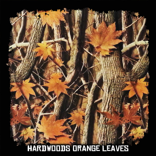 Camo - Hardwoods with Orange Leaves