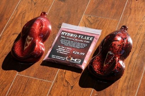 Hydro-Flake Ruby Crystal 4oz
