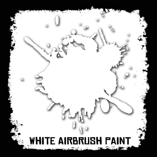 Air Brush Paint - 2oz - White