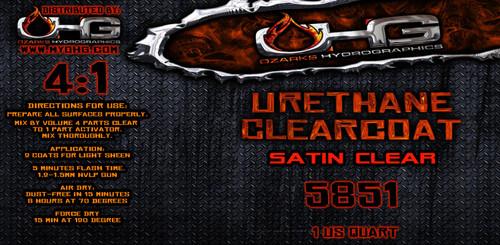 SATIN Clearcoat - Urethane