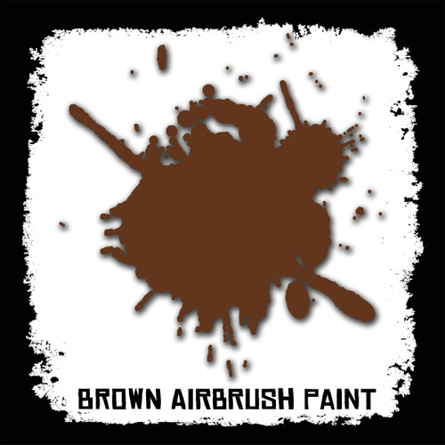 Air Brush Paint - 2oz - Brown