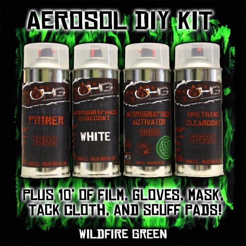 Aerosol DIY Dip Kit -  Wild Fire Green