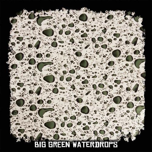 Big Green Waterdrops - 20 Foot Roll Special!