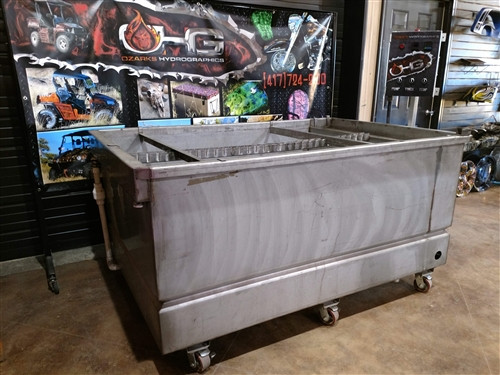 Consignment Tank - 6' Used Stainless Steel Processing Tank