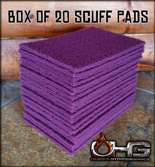Box of 20 RED scuff Pad