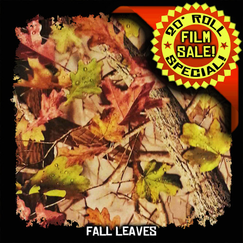 Fall Leaves - 20 Foot Roll Special!