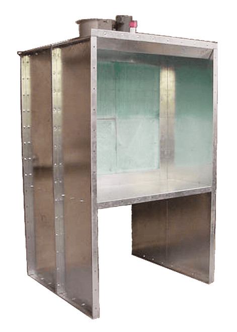 OHG Open Front Bench Paint Booth