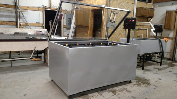 Rinse Tank Galvanized 6' Automated and Heated