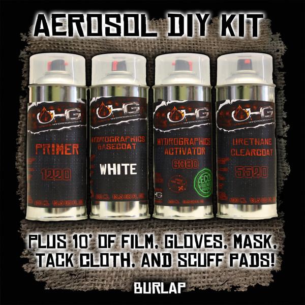 Aerosol DIY Dip Kit -  Burlap