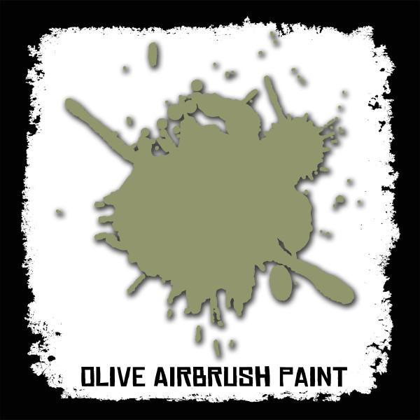Air Brush Paint - 2oz - Olive