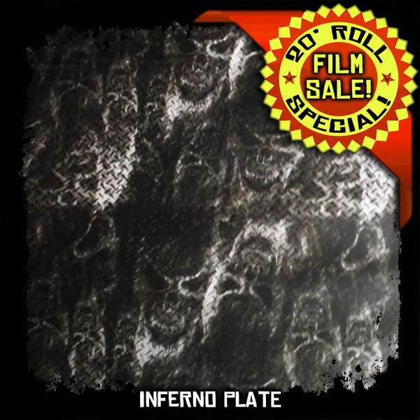 Inferno Plate - 20 Foot Roll Special!