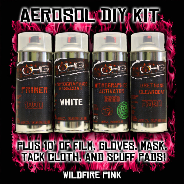 Aerosol DIY Dip Kit -  Wild Fire Pink