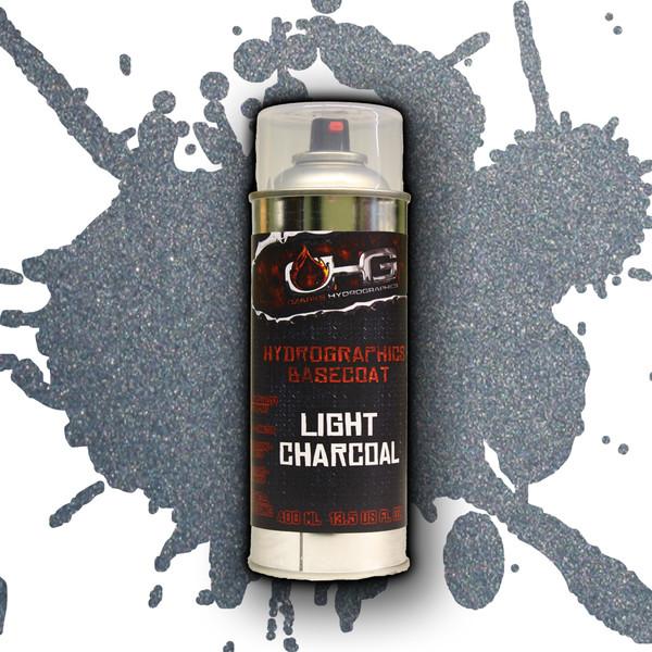Aerosol Hydrographics Basecoat - Light Charcoal Metallic