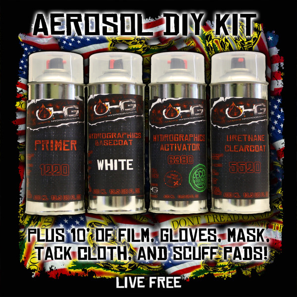 Aerosol DIY Dip Kit -  Live Free